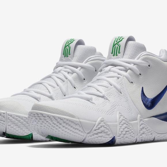 Nike Kyrie Irving 4 Iv White Blue Green